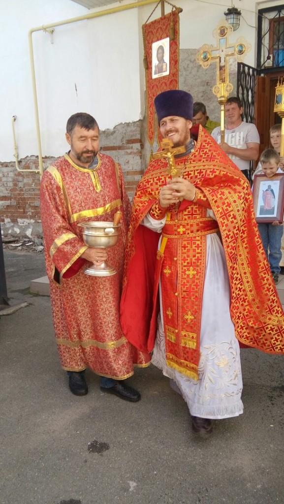 Престольный праздник пророка Илии
